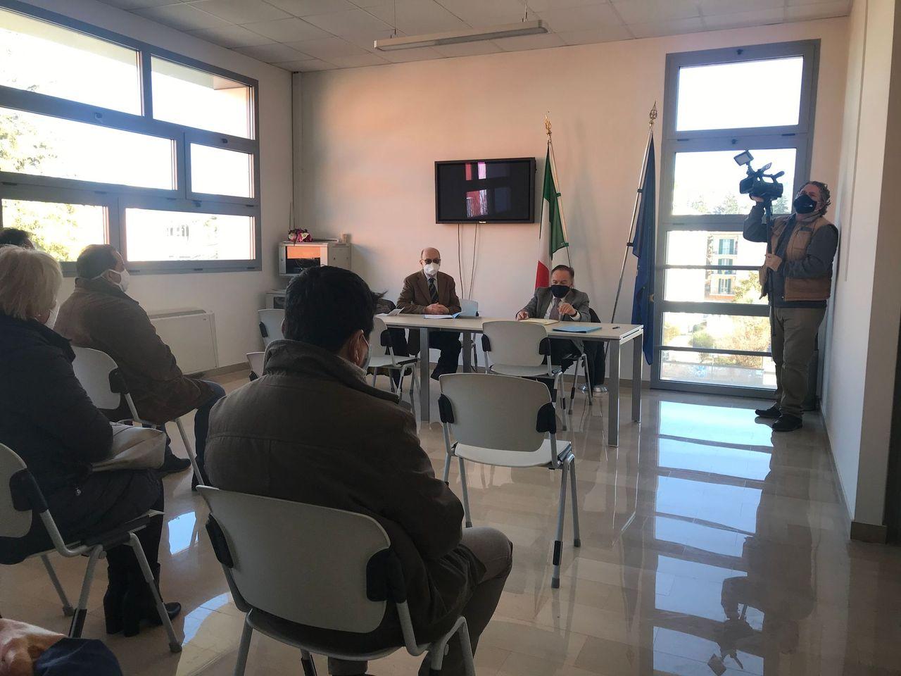 """Immagine raffigurante notizia - Conferenza Ciapi. L'Amministrazione: """"Siamo vicini ai lavoratori"""