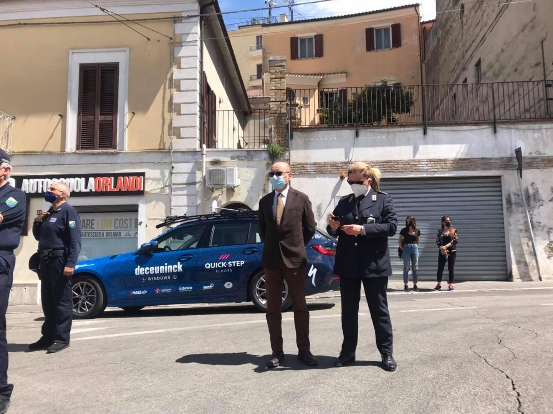 """Immagine raffigurante notizia - Sindaco su Giro D'Italia: """"Una bellissima emozione"""